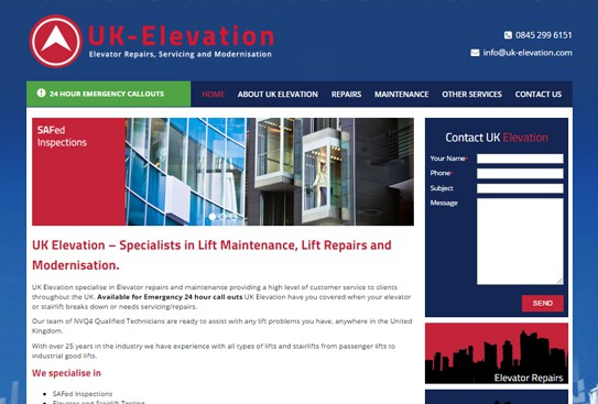 UK Elevation
