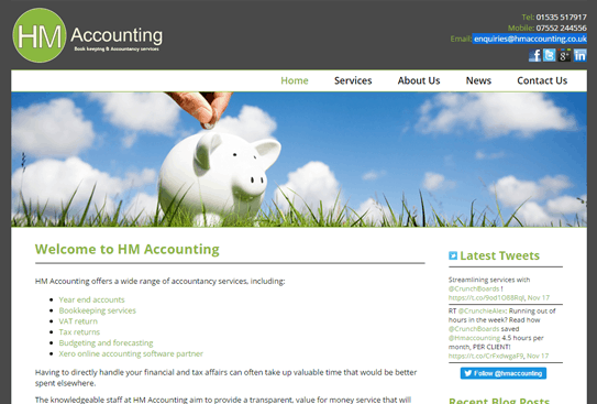 HM Accounting – East Morton