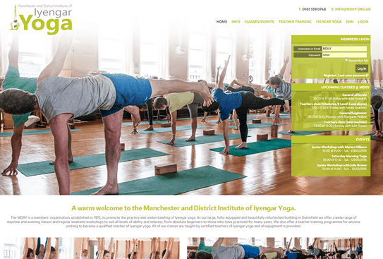 Manchester & District Iyengar Yoga Institute
