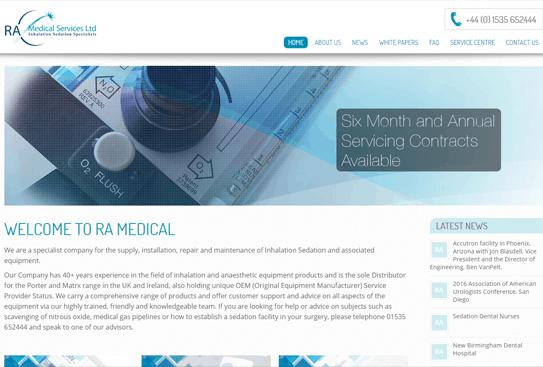 RA Medical Services Steeton