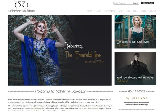 Katherine Davidson – Dress Couture