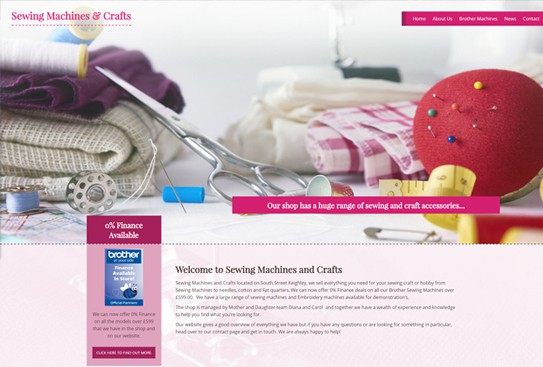 Sewing Machines & Crafts – Keighley