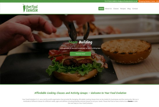 Your Food Evolution
