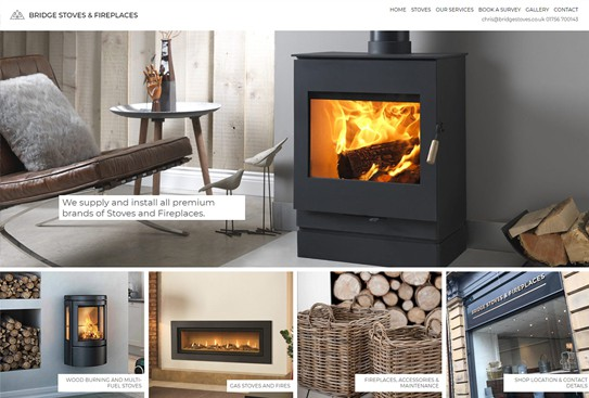 Bridge Stoves and Fireplaces Skipton