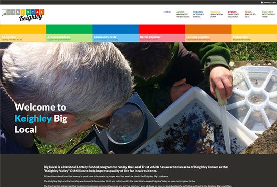 Big Local Keighley Web Design Thumbnail