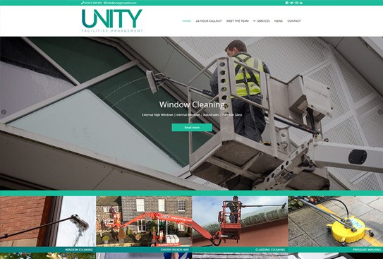 Unity Web Design Thumbnail Preview