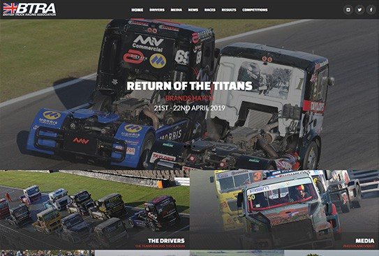 British Truck Racing Association Thumbnail Preview