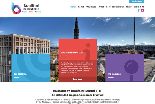 Bradford Central CLLD Website Thumnail